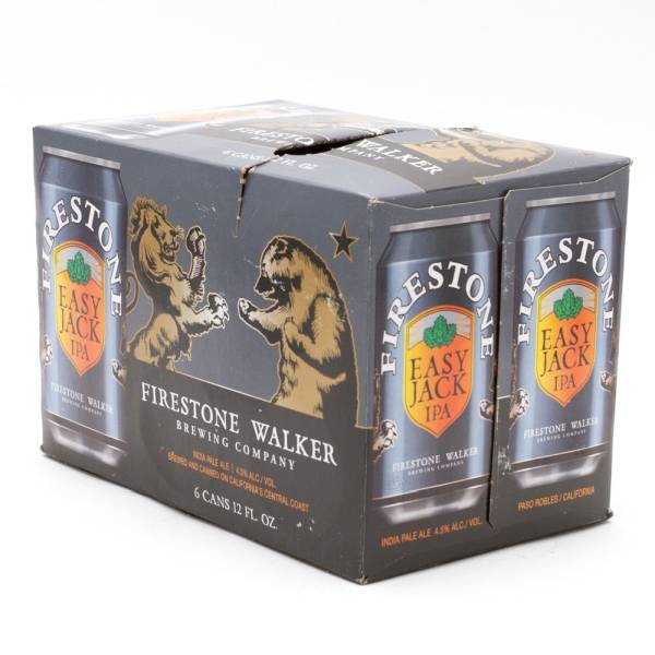 Firestone Walker - Easy Jack IPA - 12oz Can - 6 Pack