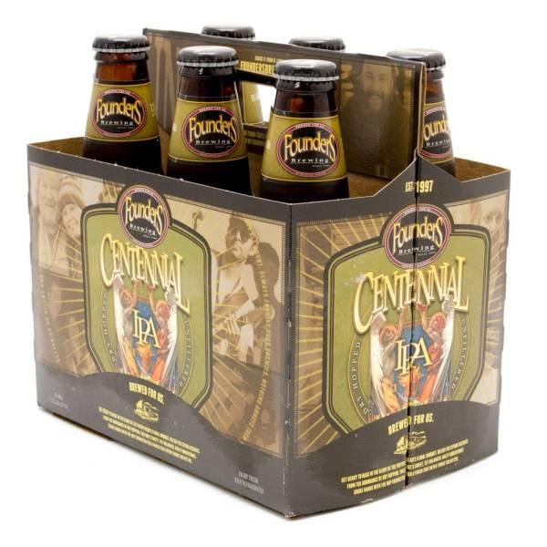 Founders - Centennial IPA - 12oz Bottles - 6 pack