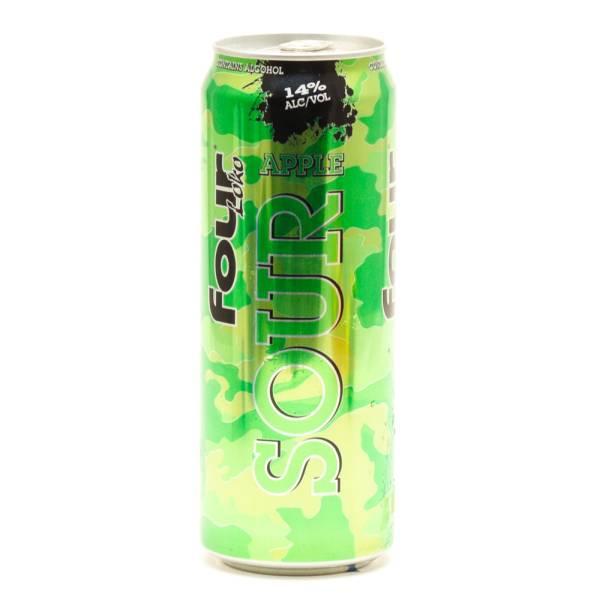 Four Loko - Sour Apple - 23.5oz Can
