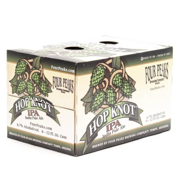 Four Peaks - Hop Knot IPA - 12oz Can - 6 Pack
