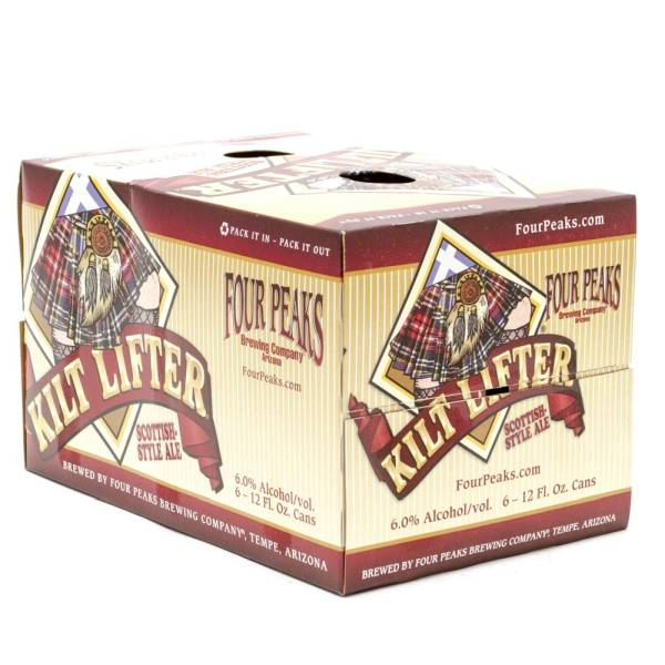 Four Peaks - Kilt Lifter Scottish Style Ale - 12oz Can - 6 Pack