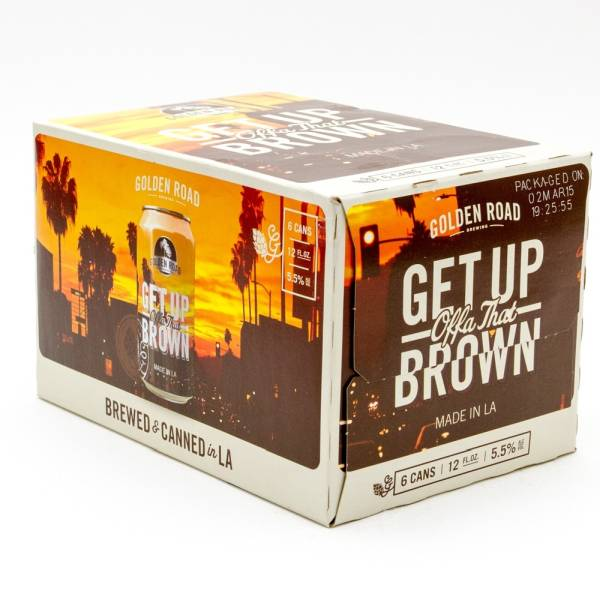 Golden Road - Get Up Offa That Brown - 12oz Can - 6 Pack
