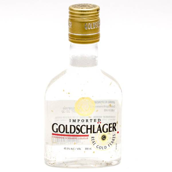 Goldschlager - Imported Cinnamon Schnapps Liqueur - 200ml