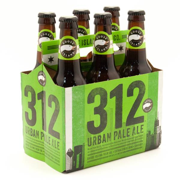 Goose Island - 312 - Urban Pale Ale - 12oz Bottle - 6 Pack