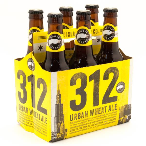 Goose Island - 312 - Urban Wheat - 12oz Bottle - 6 Pack