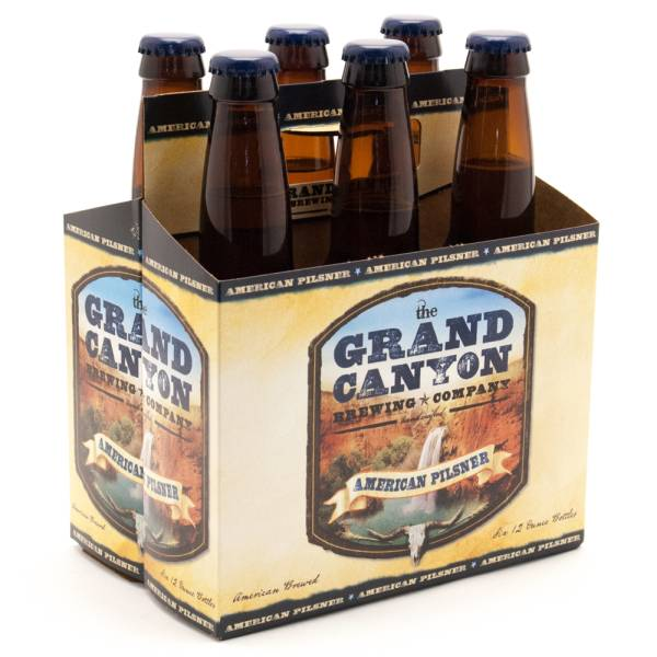Grand Canyon - American Pilsner - 12oz Bottle - 6 Pack