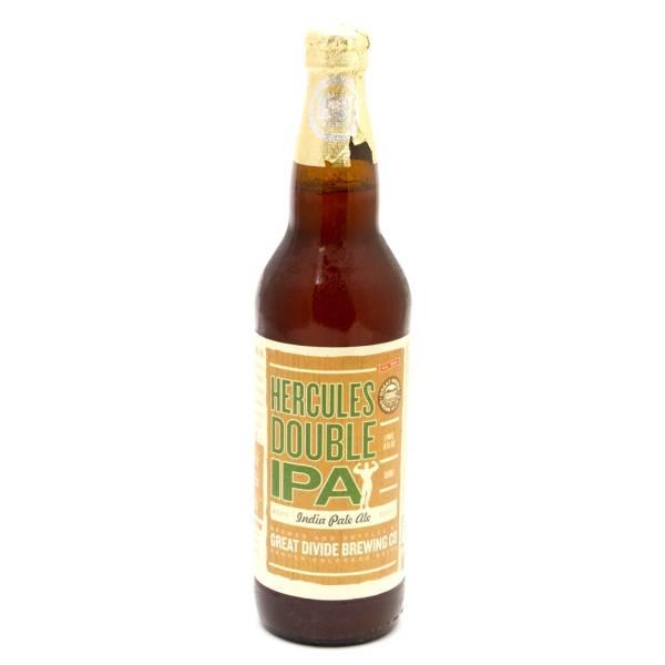 Great Divide - Hercules Double IPA - 22oz Bottle