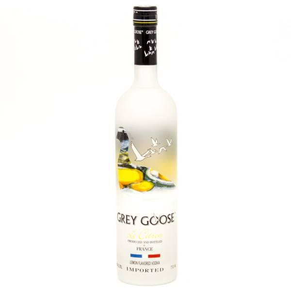Grey Goose - Le Citron Vodka - 750ml