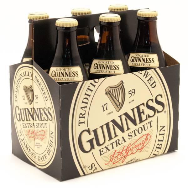 Guinness - Extra Stout - 11.2oz Bottle - 6 Pack