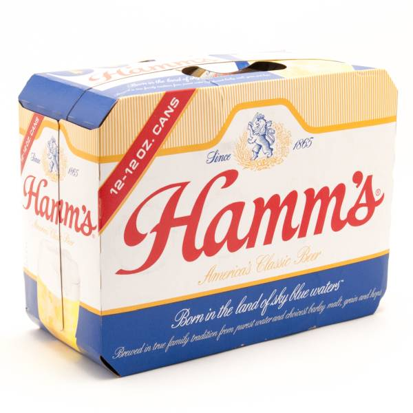 Hamm's - Classic Beer - 12oz Cans - 12 Pack