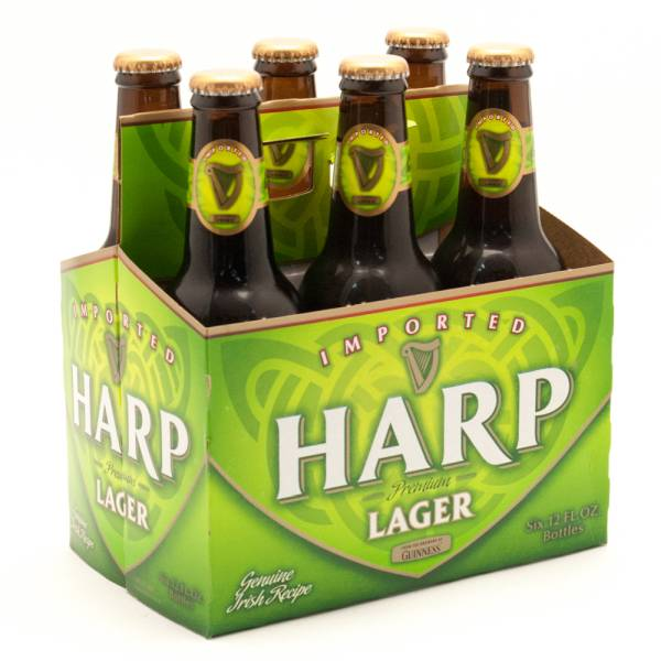 Harp - Premium Lager - 12oz Bottle - 6 Pack