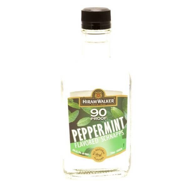 Hiram Walker - 90 Proof - Peppermint Schnapps - 200ml