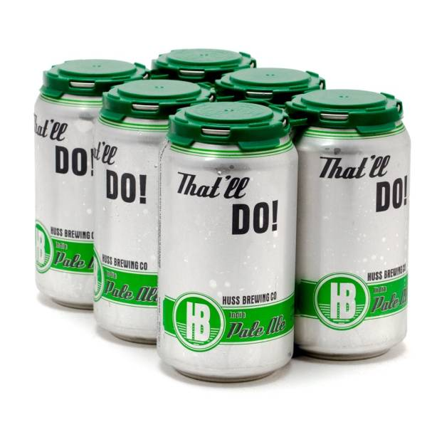 Huss - That'll Do IPA - 12oz Can - 6 Pack