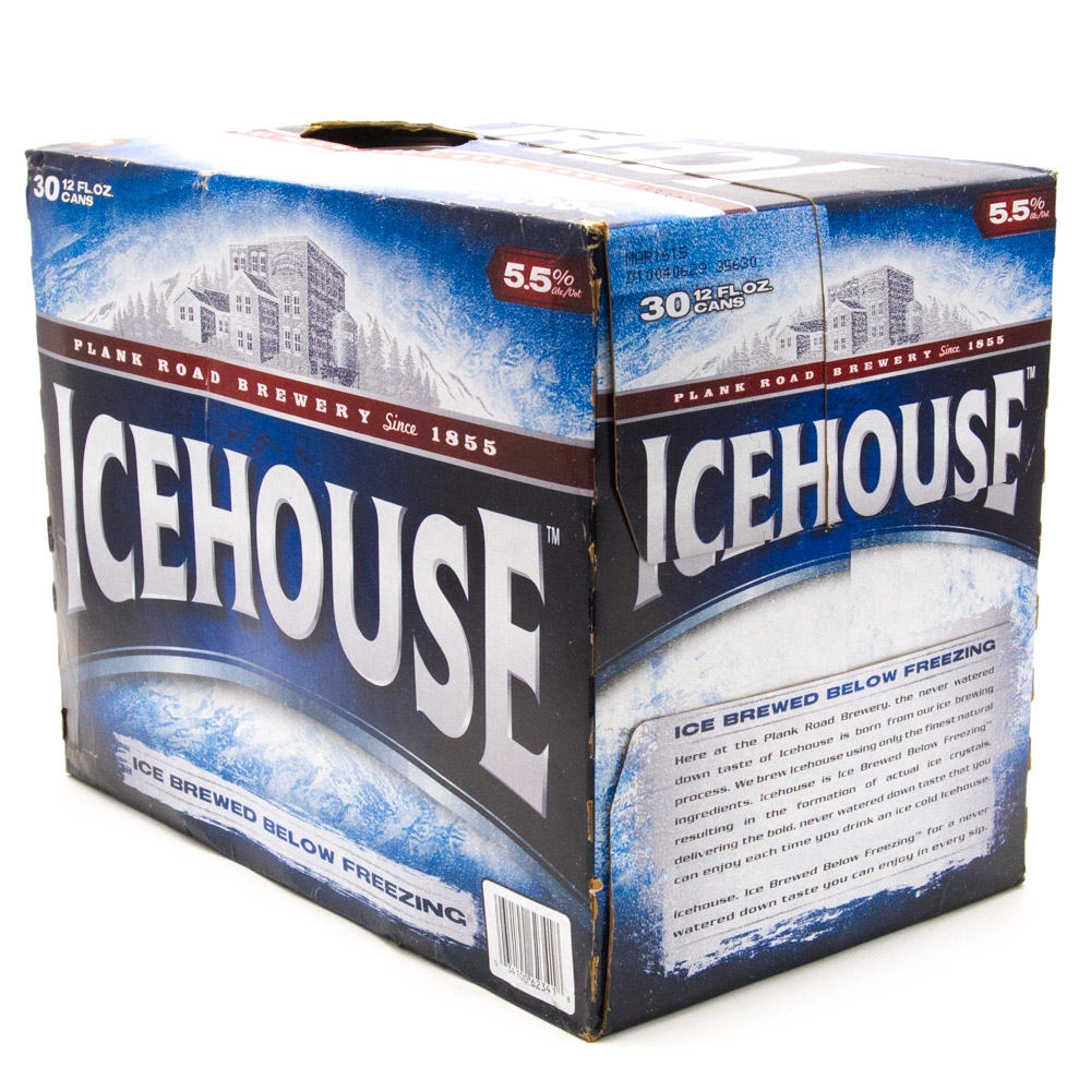 Ice House - Beer - 12oz Can - 30 Pack