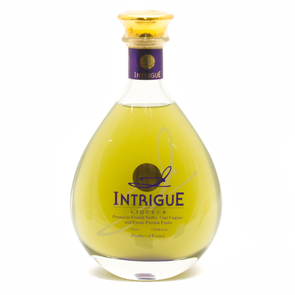 Intrigue Liqueur - Vodka, Cognac, and Passion Fruits - 750ml
