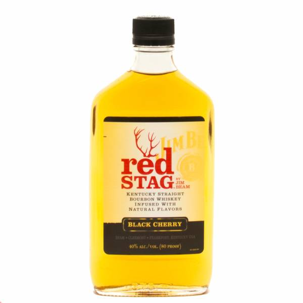 Jim Beam - Red Stag - Black Cherry Whiskey - 375ml