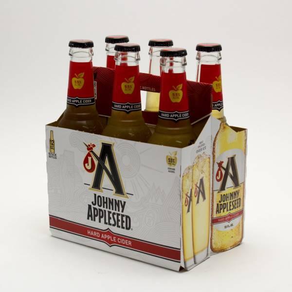 Johnny Appleseed - Hard Apple Cider - 12oz Bottle - 6 Pack