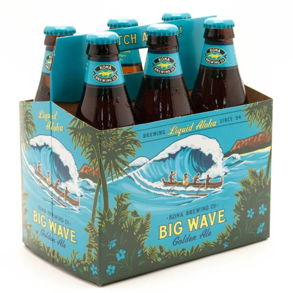 Kona - Big Wave Golden Ale - 12oz Bottle - 6 Pack