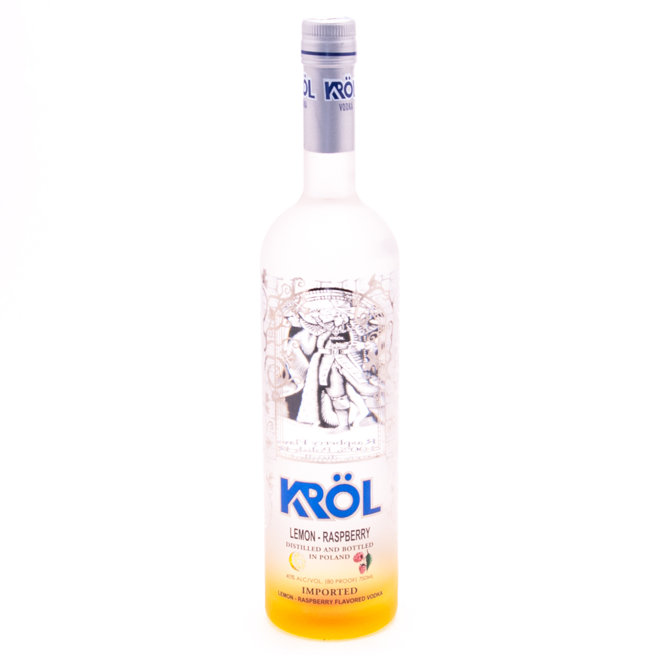 Krol - Lemon Raspberry Vodka - 750ml