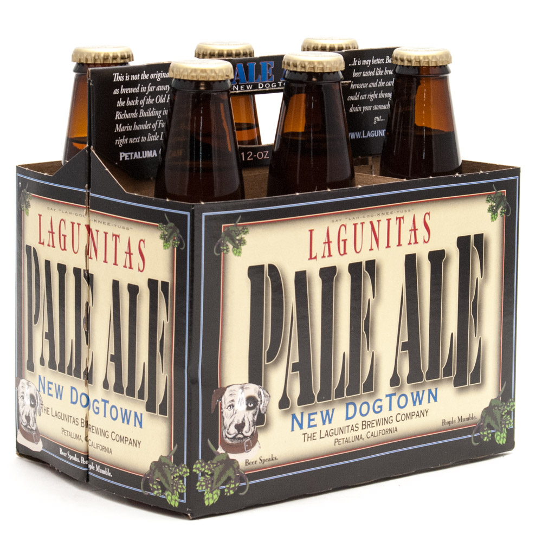 Laguinitas - New Dog Town Pale Ale - 12oz Bottle - 6 Pack