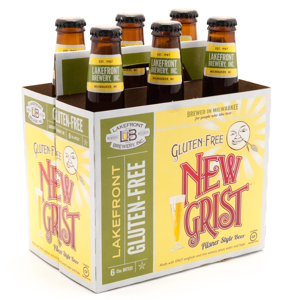 Lakefront - Gluten Free - New Grist Pilsner Style Beer - 12oz Bottles - 6 Pack