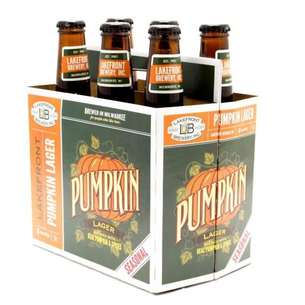 Lakefront - Pumpkin Lager - 12oz Bottles - 6 pack