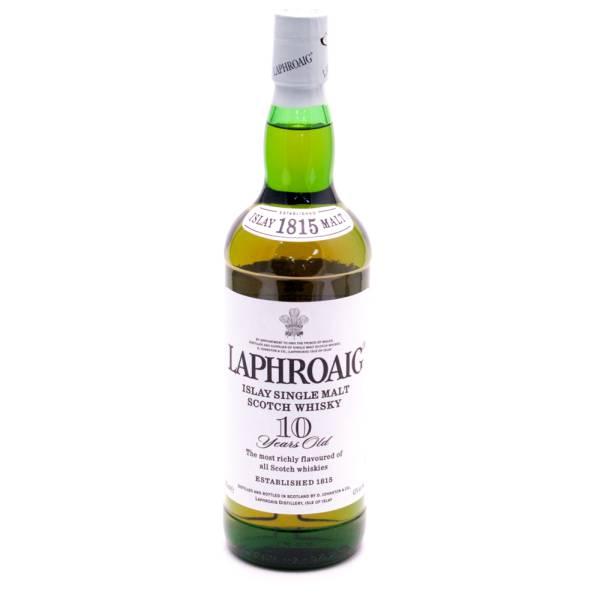 Laphroaig - Single Malt Scotch Whisky - 10 Years Old - 750ml