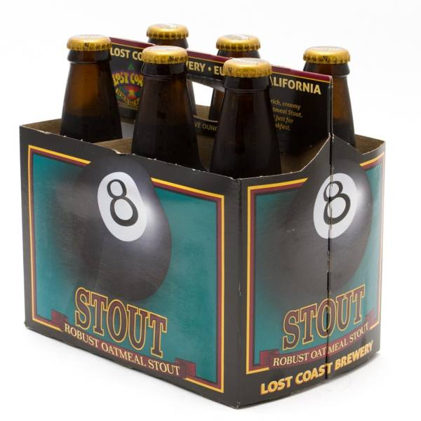 Lost Coast - Robust Oatmeal Stout - 12oz Bottle - 6 Pack