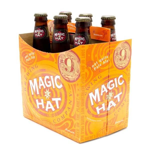 Magic Hat - Not Quite Pale Ale - 12oz Bottle - 6 Pack