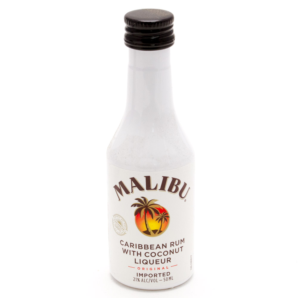 Malibu - Caribbean Rum with Coconut - Mini 50ml