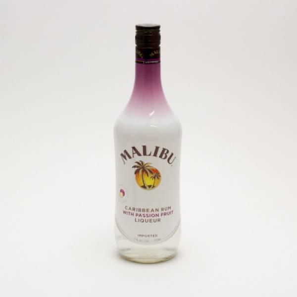 Malibu - Caribbean Rum with Passion Fruit Liqueur - 750ml