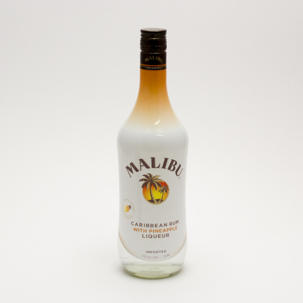 Malibu - Caribbean Rum with Pineapple Liqueur - 750ml