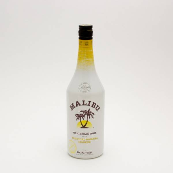 Malibu - Caribbean Rum with Tropical Banana Liqueur - 750ml