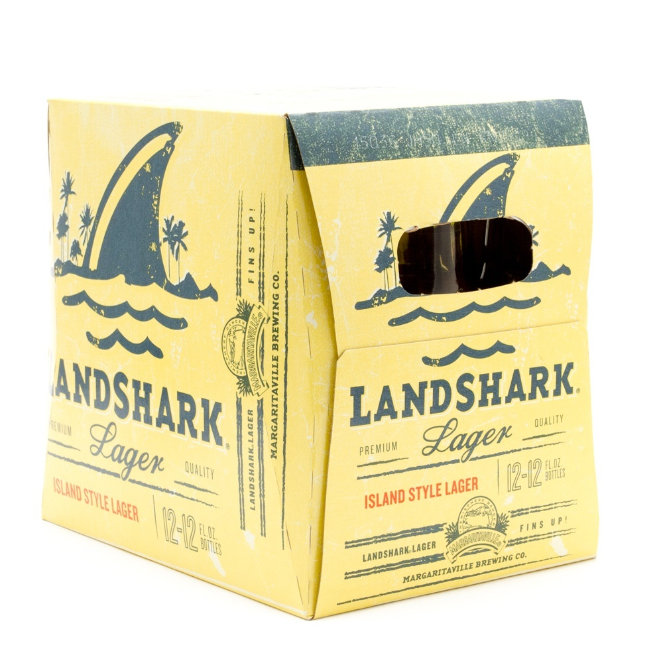 Margaritaville - Landshark Lager - 12oz Bottle - 12 Pack