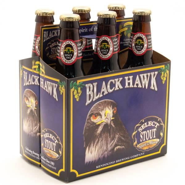 Mendocino - Black Hawk - Select Stout - 12oz Bottle - 6 pack