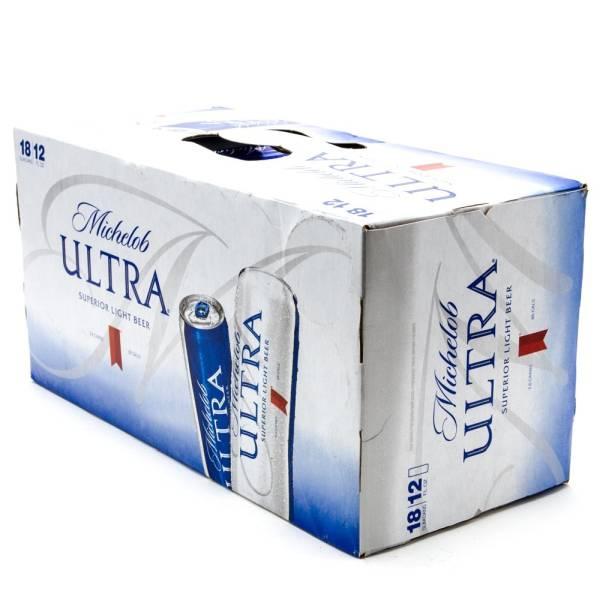 Michelob Ultra - 12oz Slim Can - 18 Pack