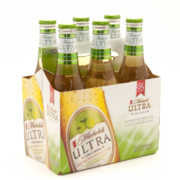 Michelob Ultra Lime Cactus 12oz Bottle 6 Pack Beer Wine And Liquor Delivered To Your Door Or Business 1 Hour Alcohol Delivery