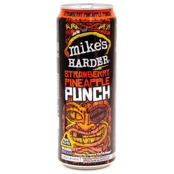 Mike's - Harder Strawberry Pineapple Punch - 23.5oz Can