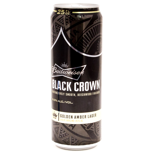 Miller - Black Crown - Golden Amber Lager - 25oz Can