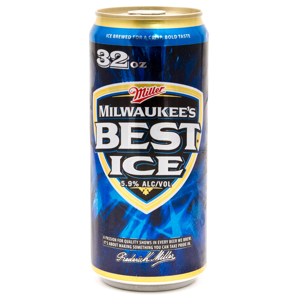 Milwaukee's Best - Ice Beer - 32oz Can