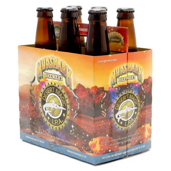 Mudshark - Full Moon Desert Magic IPA - 12oz Bottles - 6 pack