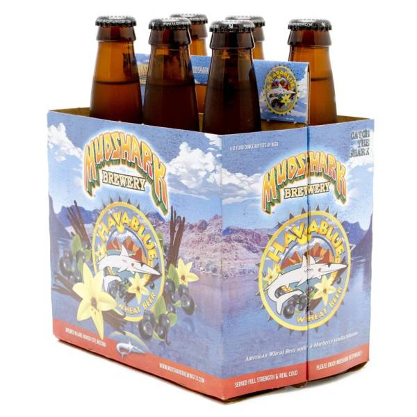 Mudshark - HavaBlue Wheat Beer - 12oz Bottles - 6 pack