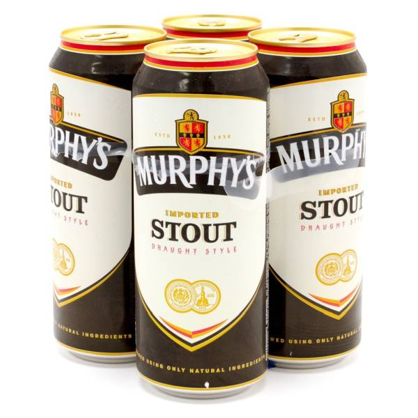 Murphy's - Imported Stout - 14.9oz Can - 4 Pack