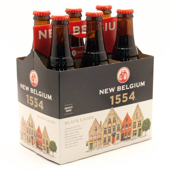 New Belgium - 1544 Black Lager - 12oz Bottle - 6 Pack