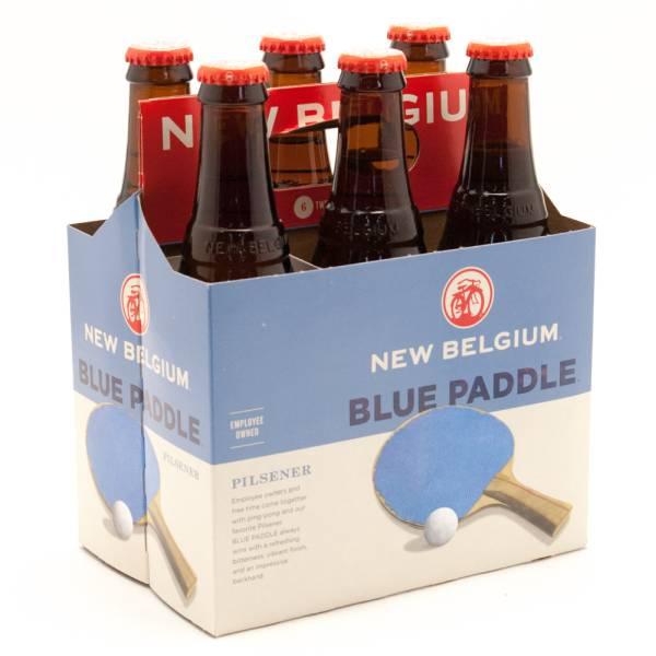 New Belgium - Blue Paddle Pilsener - 12oz Bottles - 6 pack