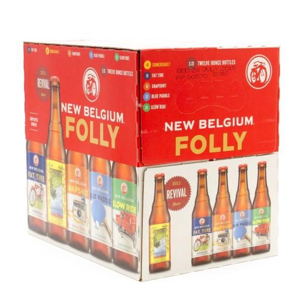 New Belgium - Folly Variety Pack - 12oz Bottles - 6 pack