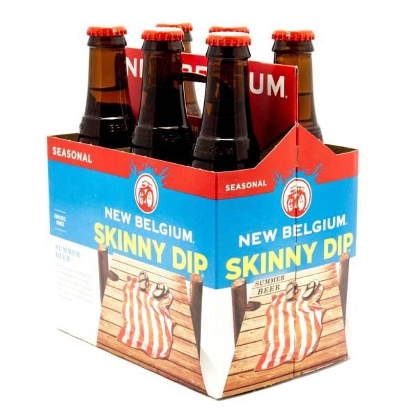 New Belgium - Skinny Dip Summer Beer - 12oz Bottles - 6 pack