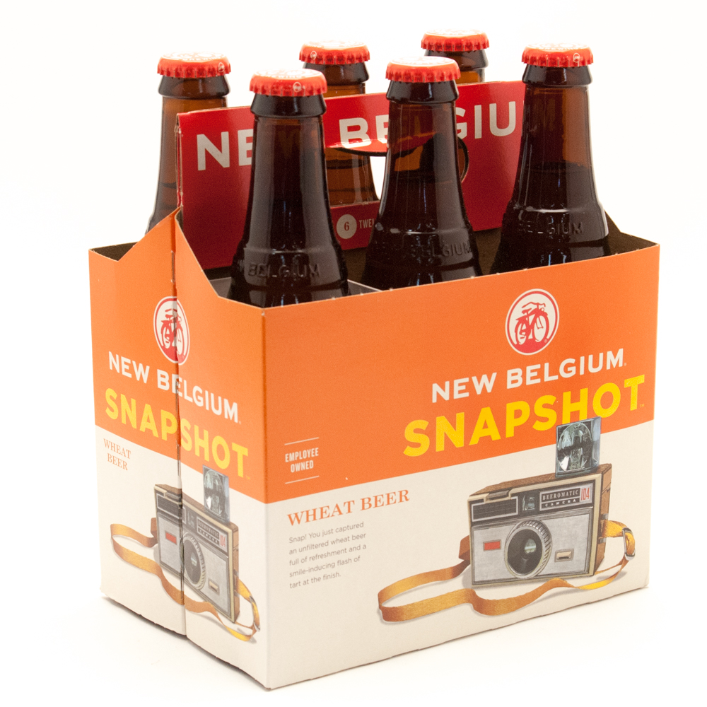 New Belgium - Snapshot Wheat Beer - 12oz Bottle - 6 Pack