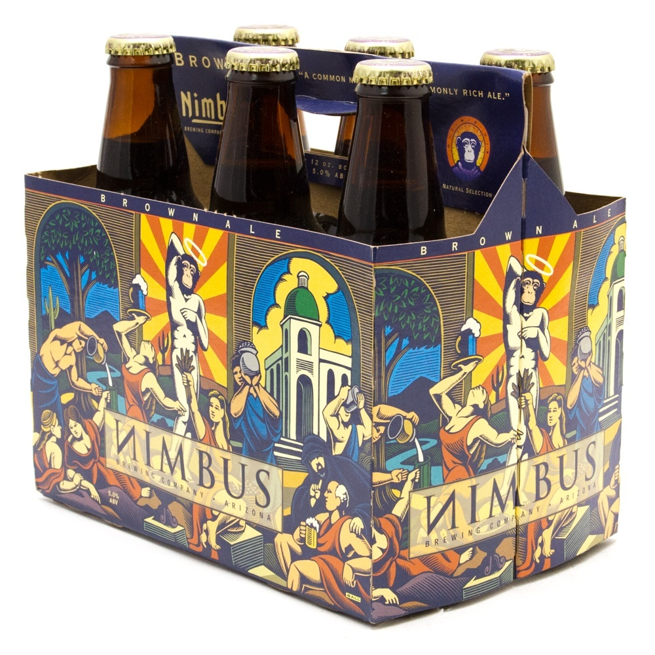 Nimbus - Brown Ale - 12oz Bottles - 6 pack