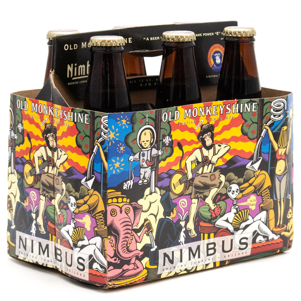 Nimbus - Old Monkey Shine - English Style Ale - 12oz Bottle - 6 Pack